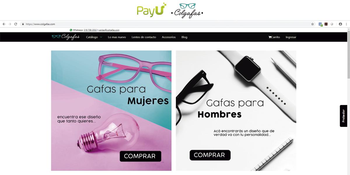 Colgafas: El negocio que empezó a crecer con una nueva óptica.
